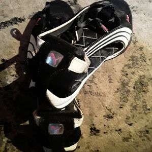 "Puma Shoes - Puma Womens ""Zany Cat"" Flats Blk/Pnk sz 7"